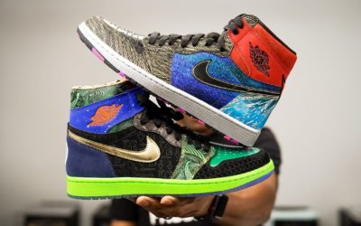 "AIR JORDAN 1 ""WHAT THE"" DOERNBECHER UNBOXING AND RECIEW"