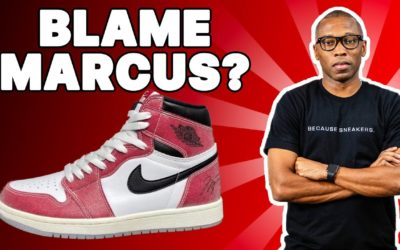 "AIR JORDAN 1 ""TROPHY ROOM"" FAILURE?"
