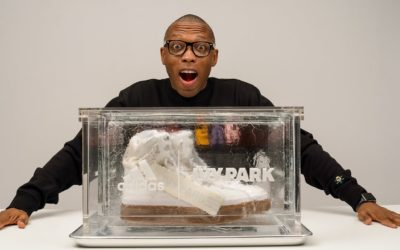 BEYONCE AND ADIDAS SENT ME A SNEAKER IN ICE…LITERALLY