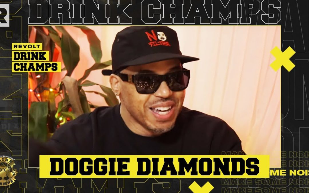 DOGGIE DIAMONDS ON HIS MAX B INTERVIEW, DIPSET, BEING A TRAILBLAZER, VLAD TV & MORE   DRINK CHAMPS