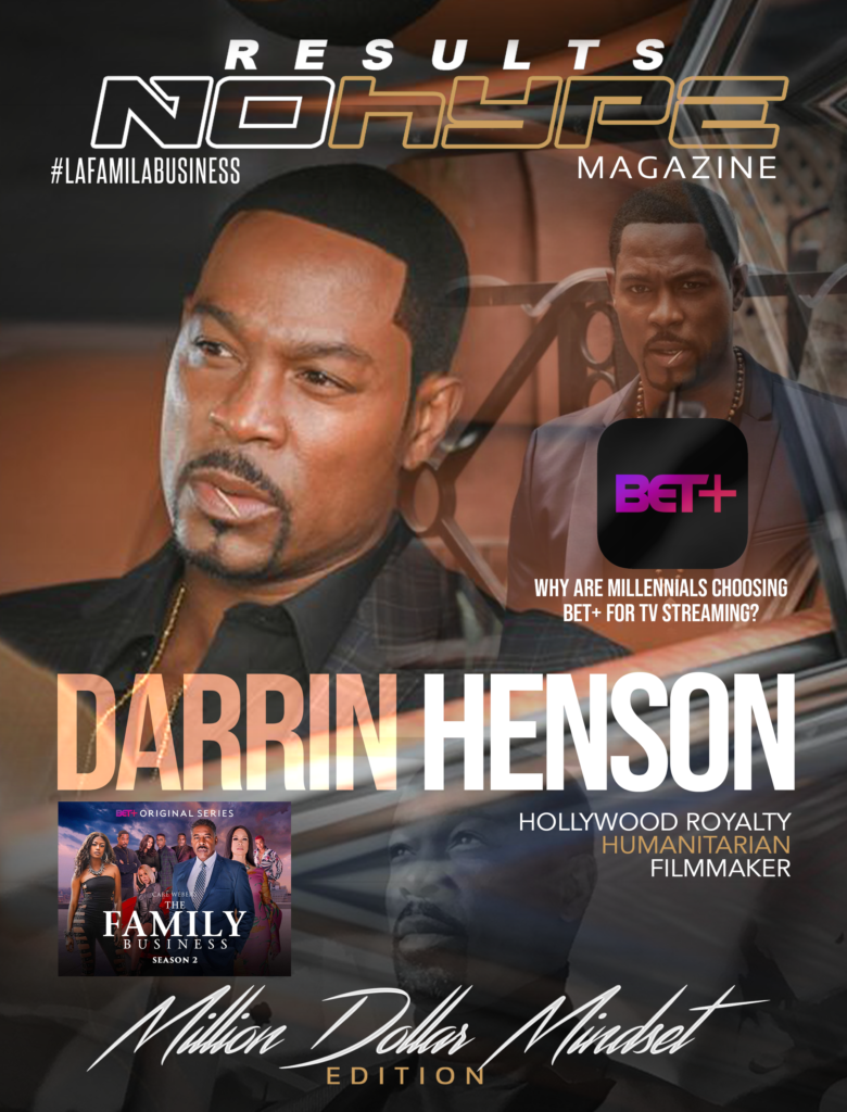 Darrin Henson personifies sophisticated cool and calculated power on 'Family Business'