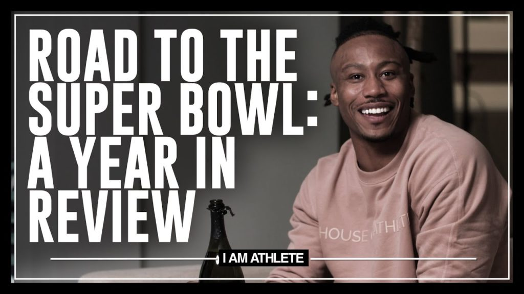 ROAD TO THE SUPER BOWL: A YEAR IN REVIEW   I AM ATHLETE WITH BRANDON MARSHALL, CHAD JOHNSON & MORE