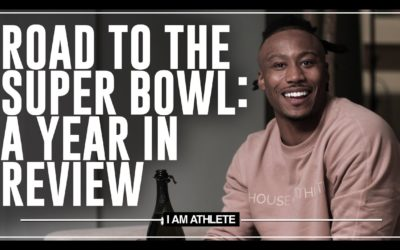 ROAD TO THE SUPER BOWL: A YEAR IN REVIEW | I AM ATHLETE WITH BRANDON MARSHALL, CHAD JOHNSON & MORE