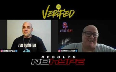 #VERIFIEDPODCAST WENDY DAY TALKS HIPHOP HISTORY, SURPRISE CO-HOST ROB LOVE OF DEFJAM, RAP COALITION