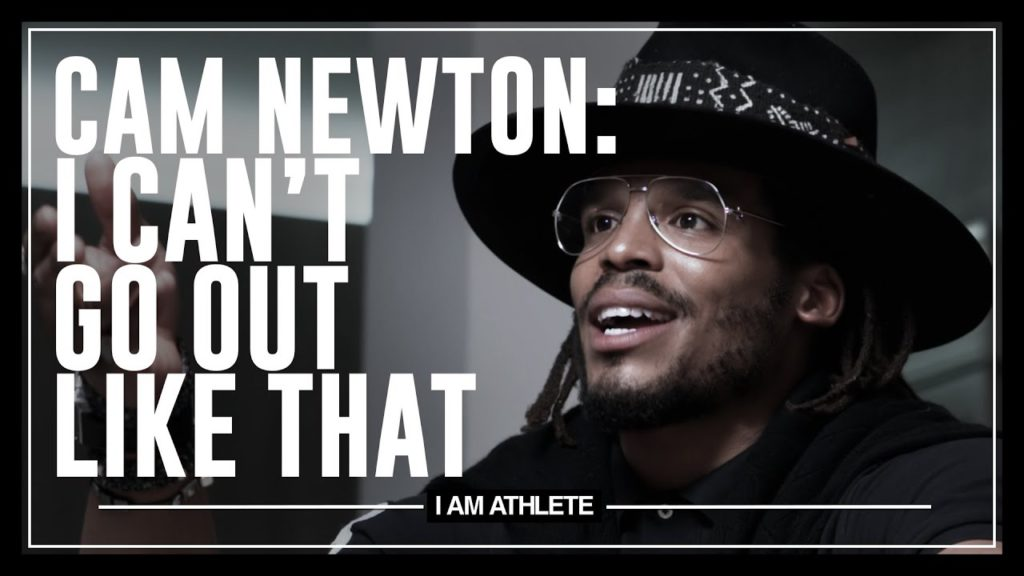CAM NEWTON: I CAN'T GO OUT LIKE THAT | I AM ATHLETE WITH BRANDON MARSHALL, CHAD JOHNSON & MORE