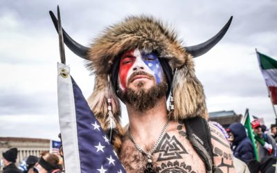 """AT IMPEACHMENT TRIAL, """"QANON SHAMAN"""" RIOTER WISHES TO TESTIFY AGAINST TRUMP"""