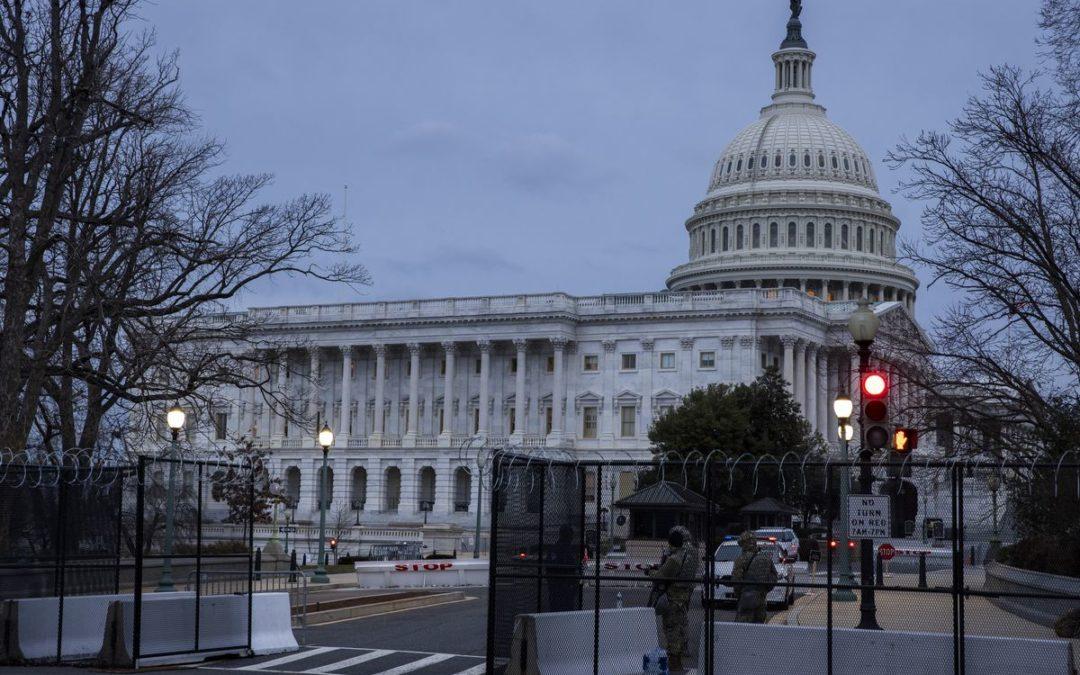 Man arrested near the U.S. Capitol carrying a gun