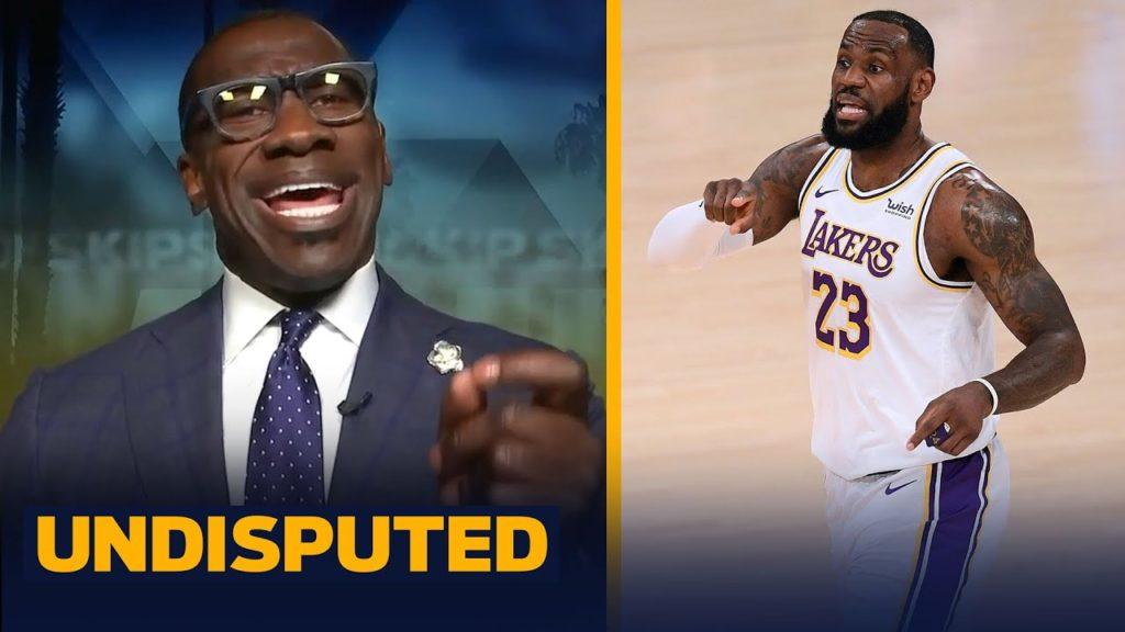 SKIP & SHANNON ON LEBRON'S 'I WOULD NEVER SHUT UP' RESPONSE TO ZLATAN IBRAHIMOVIC | NBA | UNDISPUTED