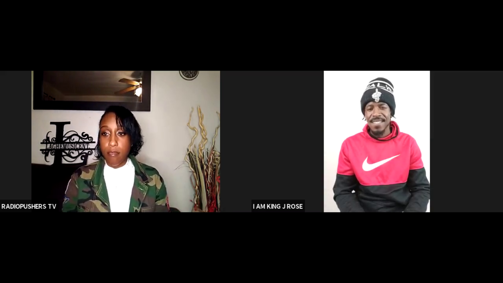 DREAMHUSTLEWIN PODCAST FEATURING I AM KING J ROSE | HOSTED BY LAGHE MUSIC | EP#89