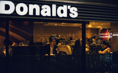 McDonald's workers across 15 different cities have gone on strike to fight for living wages